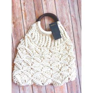 Crochet Tote Bag Handmade